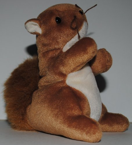 Nuts Squirrel (TY Beanie Baby - NUTS the Squirrel)