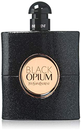(YSL Eau De Parfum Spray for Women, Black Opium, 3 Ounce)