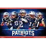 "Amazon Price History for:Trends International RP15023 New England Patriots Team Wall Poster, 22.375"" x 34"""