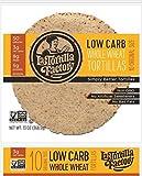 La Tortilla Low Carb Tortilla Whole Wheat High Fiber, 13 oz