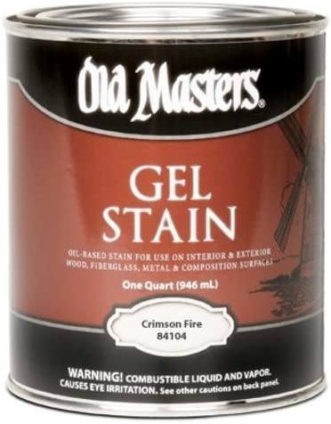 Old Masters/Master productos 158792 Thick N Ezy Deep Red ...