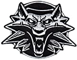 Screaming Black White Wolf Witcher Backpack Morale Patch By Titan One