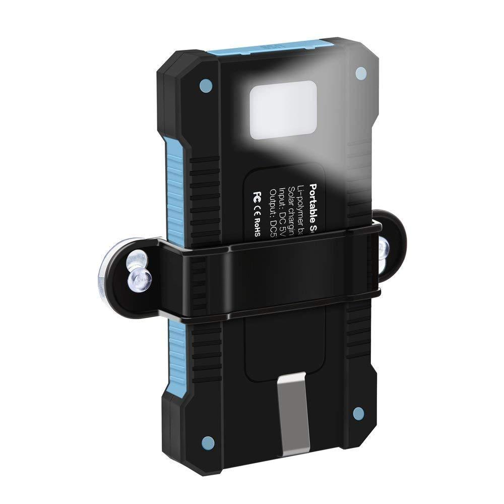 Solar Charger 10000mAh Portable Power Bank X-DNENG DN22-D