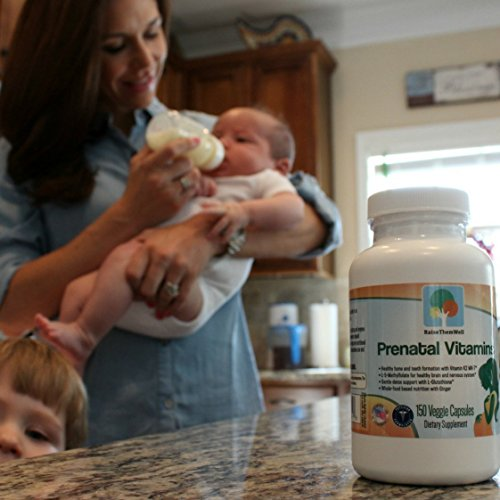 Physician Developed Prenatal & Breastfeeding Multivitamin. Formulated for Optimal Maternal and Fetal Health. Only Prenatal that has Vitamin K2 MK 7, Methylfolate, Methylcobalamin, and Glutathione.