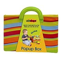 Edushape Media Pop-Up caja de juguetes de tela