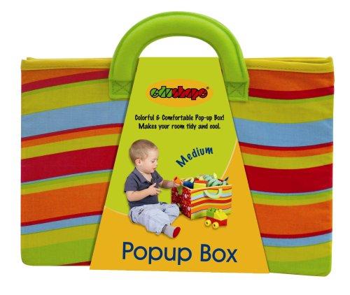 Edushape Medium Pop-Up Fabric Toy Box by Edushape