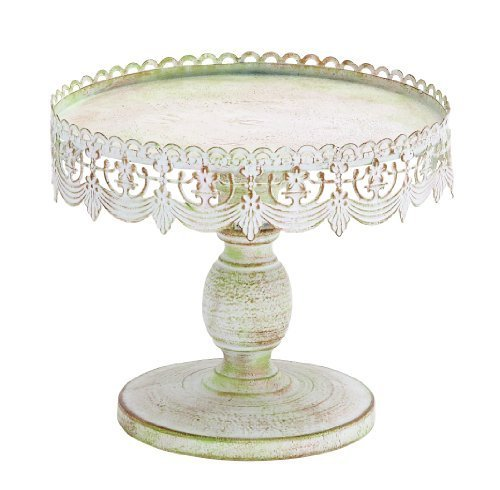 - Deco 79 68766 Decorative Traditional Cake Stand, 10