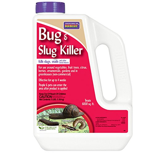Bonide Chemical Co Inc 909 037321009092 Chemical Number-3 Bug and Slug Bait