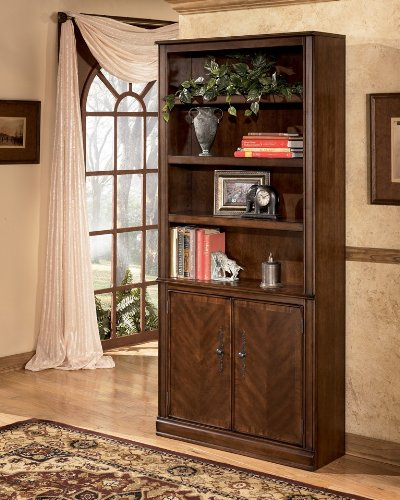 Hamlyn Large Door Bookcase by Ashley Furniture