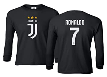 super popular 2ba6a 8bccd Spark Apparel Soccer Shirt #7 Cristiano Ronaldo CR7 Boys Girls Youth Long  Sleeve T-Shirt