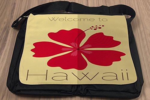 Borsa Tracolla Vacanza Agenzia Viaggi Hawaii Stampato