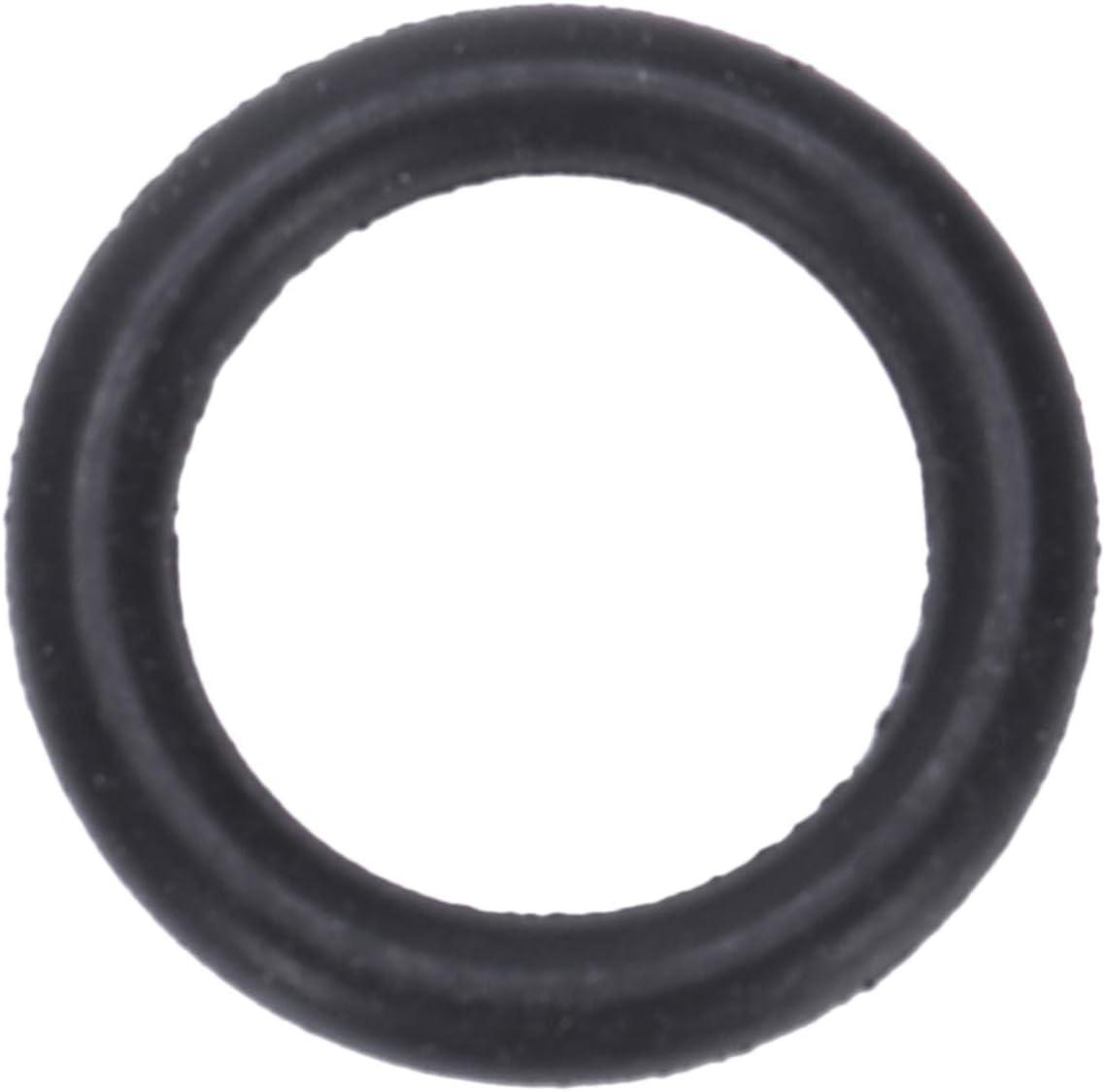 Gaoominy 10 Pi/èCes Rondelles de Joint Torique en Caoutchouc Souple 13 Mm X 2 Mm Noir