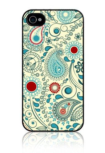 SkunkWraps Apple iPhone 4 4S Slim Hard Case Cover - Vintage Paisley
