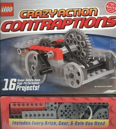Lego Crazy Action Contraptions [With Legos] [ LEGO CRAZY ACTION CONTRAPTIONS [WITH LEGOS] ] by Stillinger, Doug ( Author ) Jan-01-1948 Hardcover