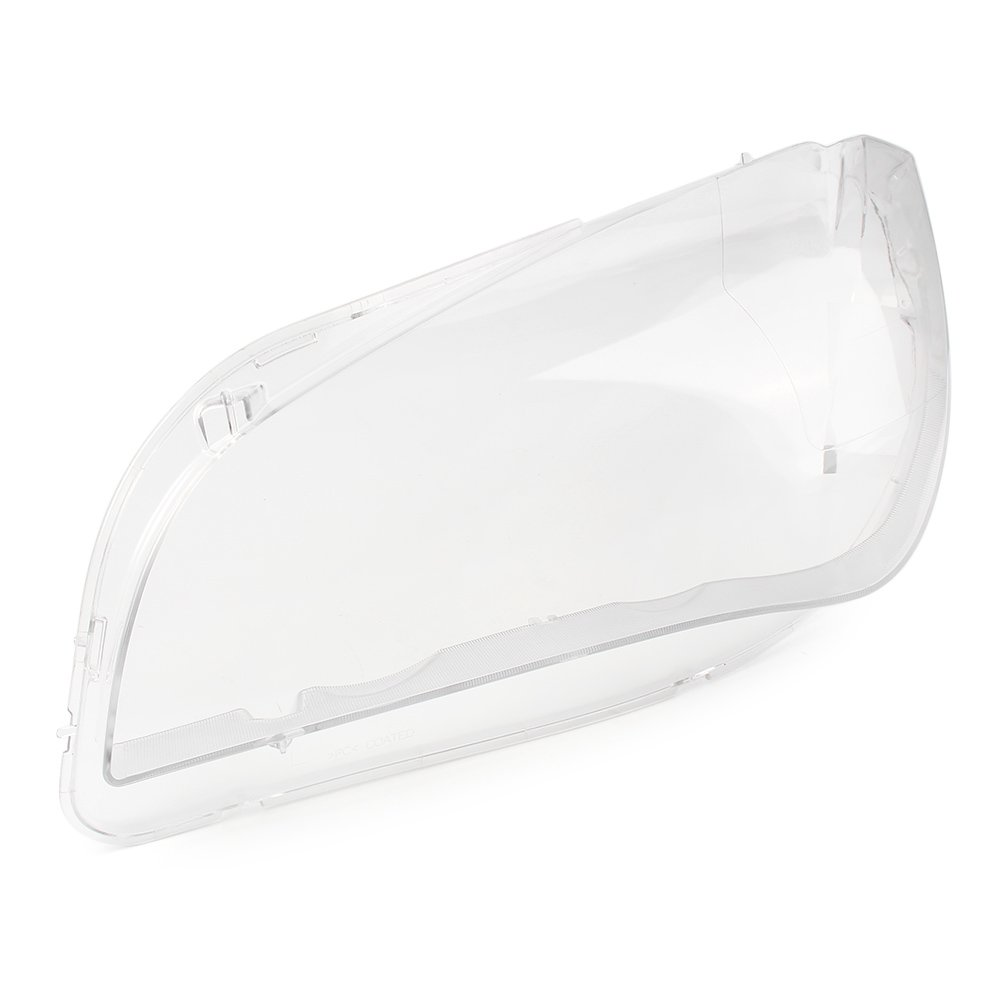 GZYF Pair Clear Headlight Lens Cover Replacement Lampshade Shell for BMW X1 E84 2008-2015