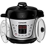 COSORI Mini 2.1 Qt 7-in-1 Multi-Functional Programmable Pressure Cooker, Slow Cooker, Rice Cooker, Sauté, Steamer, Yogurt Maker & Warmer, Includes Glass Lid, Sealing Ring and Recipe Book