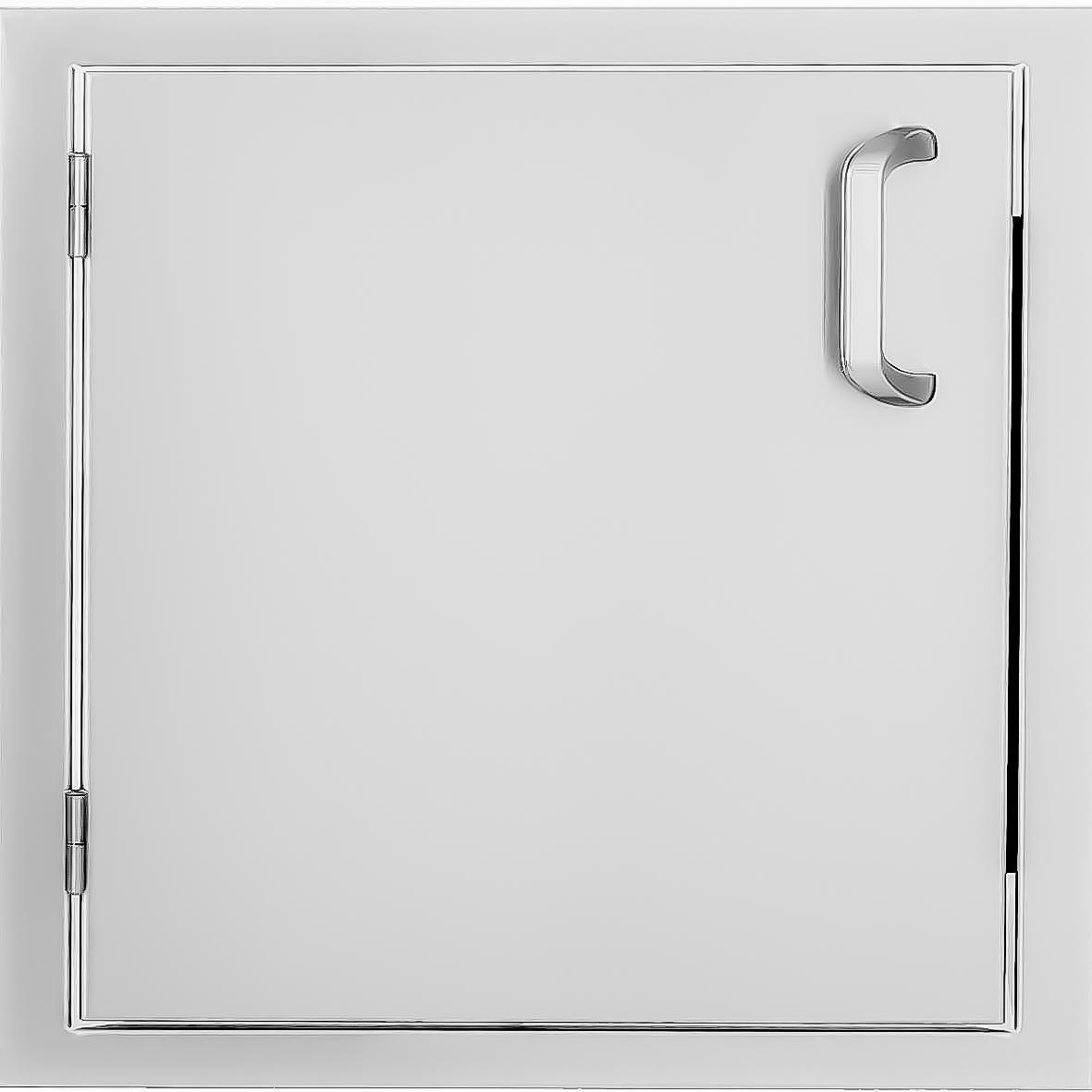 BBQGUYS Kingston Series 21-Inch Stainless Steel Left-Hinged Single Access Door