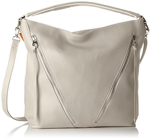 bolsos Shoppers L y de Gris Grey David Mujer hombro Cm3732 Jones qw4gxAI7