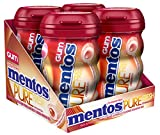 Kyпить Mentos Pure Fresh Sugar-Free Chewing Gum with Xylitol, Cinnamon, Valentines Candy, 50 Piece Bottle (Pack of 4) на Amazon.com