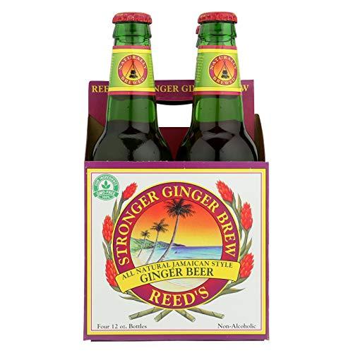 (Reed's Ginger Beer Ginger Brew - Stronger - Case of 6 - 12 Fl oz.)