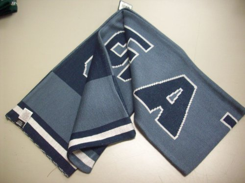 (Reebok Seattle Seahawks Pacific Blue-Navy Blue Game Day Reversible Scarf )