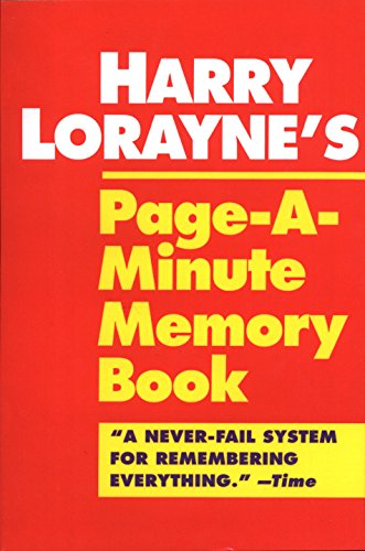 Harry Lorayne's Page-a-Minute Memory Book by Unknown