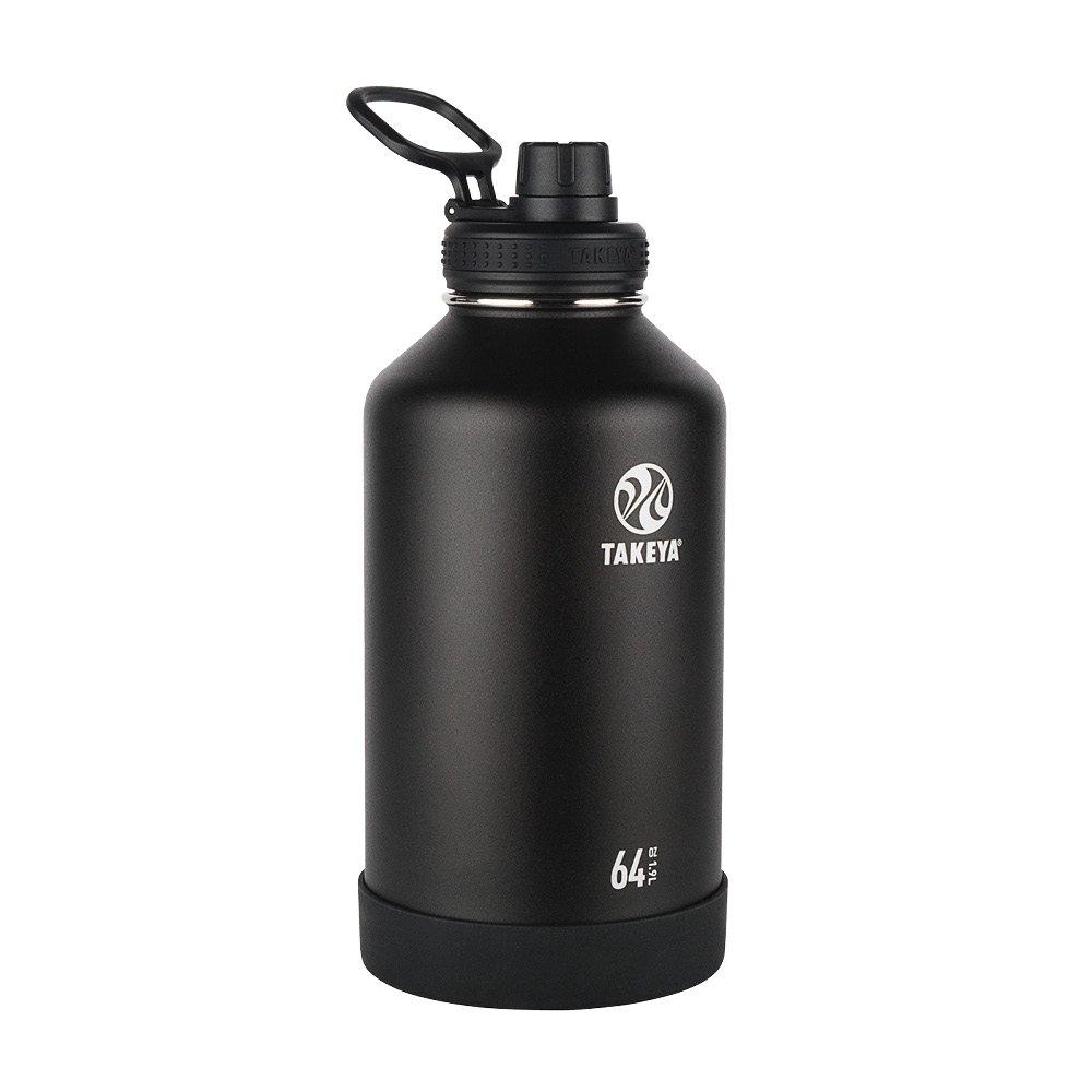 Amazon.com: Takeya - Botella de agua de acero inoxidable ...