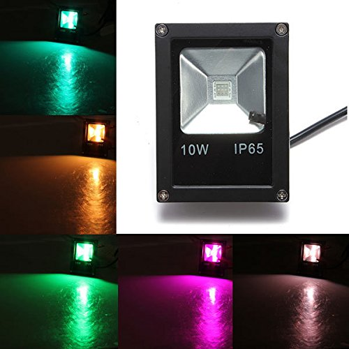 10W LED IP65 RGB Outdoor Ultra Thin Waterproof Flood Light - Of America Eyeglasses Mall