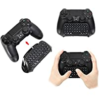 A-SZCXTOP Bluetooth Wireless Keyboard Chatpad Message Keypad For Sony PlayStation 4 PS4 GamePad Controller W/Built -in Speaker and 3.5mm Jack