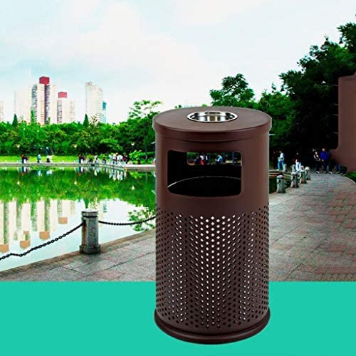ゴミ袋 ゴミ箱用アクセサリ 屋外のゴミ箱、シンプルなスタイル/収納用バケツ、灰皿コミュニティパーク付きの大きなゴミ箱 キッチンゴミ箱
