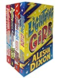 Alesha Dixon Lightning Girl 4 Books Collection Set (Lightning Girl, Superhero Squad, Secret Supervillain, Superpower Showdow)