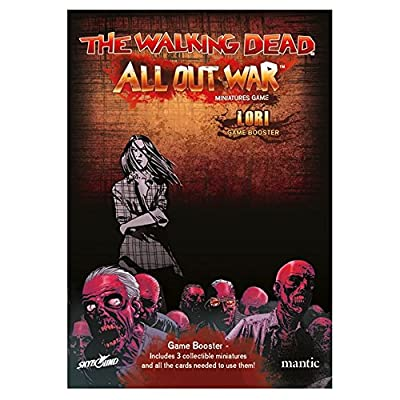 The Walking Dead All Out War: Lori Booster: Toys & Games