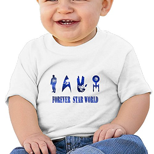 Price comparison product image Kim Lennon Forever Actor Film Star Custom Newborn Summer T-shirt White Size 6 M