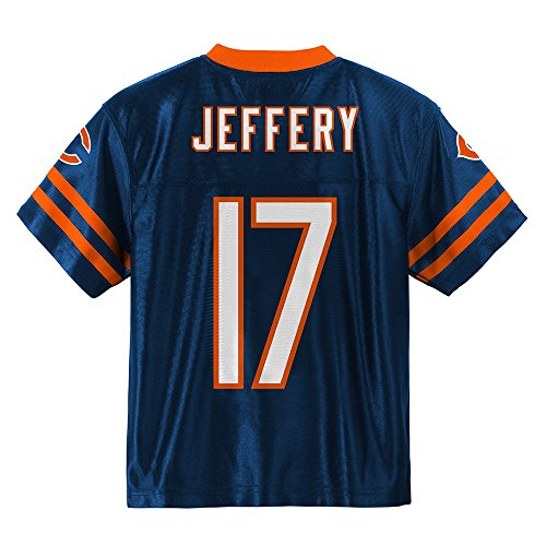 Outerstuff Alshon Jeffery NFL Chicago Bears Replica Home Navy Blue Jersey Boys Youth Sizes