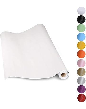 Película adhesiva-muebles lámina azul puntos dots 0,45 M X 2 M de decoración lámina autoadhesiva