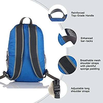 Outlander Ultra Lightweight Packable Water Resistant Travel Hiking Backpack Daypack Handy Foldable