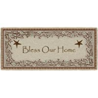 Brumlow Mills Berry Blossoms Blessing Kitchen Rug, Deep Red