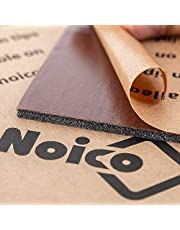 Noico RED 150 mil (4mm) 36 sqft (3.4 sqm) Noico Liner Car Heat and Sound Insulation,Heat and Cool Liner, Self-Adhesive Closed Cell Deadening Material (PE Foam)