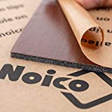 Noico RED 150 mil 36 sqft Noico Liner Car Heat and Sound Insulation,Heat and Cool Liner, Self-Adhesive Closed Cell Deadening Material (PE Foam)