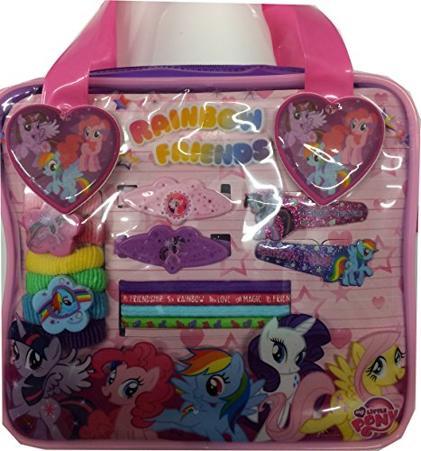 My Little Pony Bag with Assorted Accessories]()