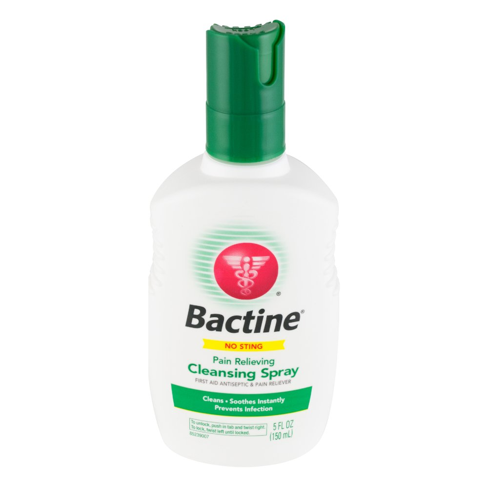 Bactine First Aid Cleansing Spray-5 oz. (Pack of 5) by Bactine