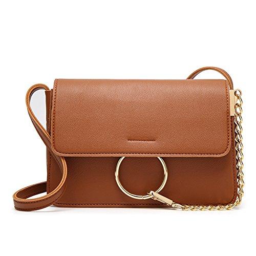 - Women Girls Leather Satchel Shoulder Bag Cross Body Messenger Tote Handbag Brand New