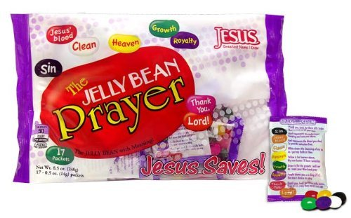 The Jelly Bean Prayer Packets 8.5 oz (Candy Packets)