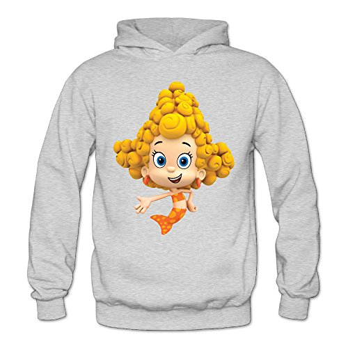 Bubble Guppies Deema Women's Long Sleeve Sweater Ash US Size L]()