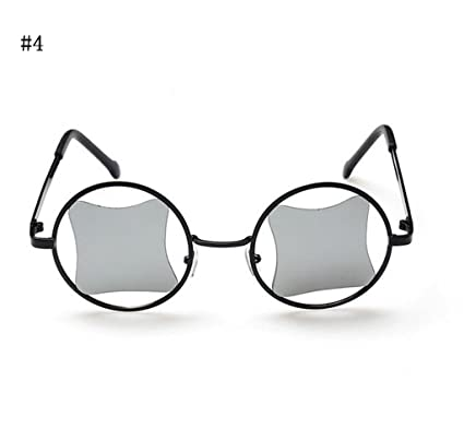 Flashing- Moda Retro Gafas De Sol Metálicas Reflectantes ...