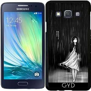 Funda para Samsung Galaxy A3 (SM-A300) - ... A medida que la lluvia cayó en mí by Rouble Rust