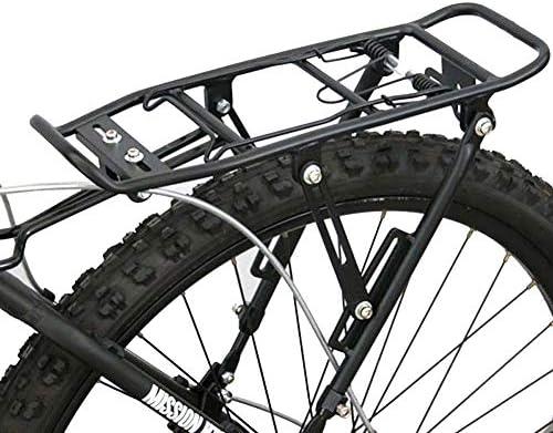 JXS-outdoor Parrilla Trasera Bicicleta de montaña - con un Peso 25kg de Equipaje - Desmontaje rápido - Percha para Bicicletas Carrier: Amazon.es: Deportes y aire libre