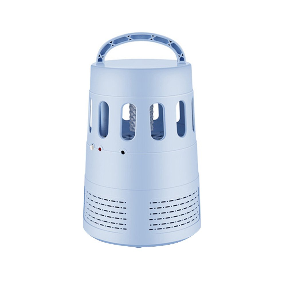 VORCOOL Electronic Mosquito Killer Lamp LED Bug Zapper Insect Repellent USB Fly Killer Trap (Blue)