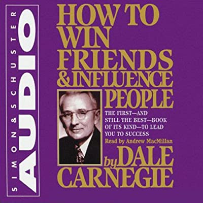 by Dale Carnegie (Author), Andrew MacMillan (Narrator), Simon & Schuster Audio (Publisher)(5799)Buy new: $31.93$23.95193 used & newfrom$23.95