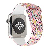 Floraler Sport Band for Apple Watch 42mm 38mm, Soft...